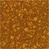 SAMPLE - Floor Tiles Solid Cork in Earth