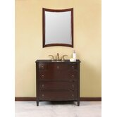 "Venice Single 36"" Bathroom Vanity Set in Espresso"