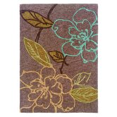 Trio Space Dyed Thistle/Brown Rug