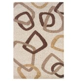 Andros Ivory/Brown Rug