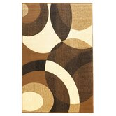 Metro Collection Brown Rug