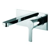Matrix Wall Mounted Bathroom Sink Faucet with Single Handle