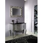 "Boheme 39.2"" Bathroom Vanity Set in Silver"