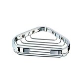 Basket Corner Soap Holder in Chrome
