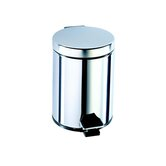 Standard Hotel Pedal Waste Bin in Stainless Steel