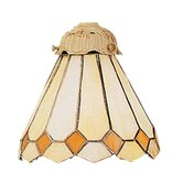 "Mix-N-Match 6"" Glass Shade in Blanched Almond"