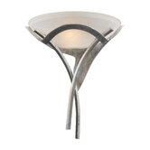 Aurora  Wall Sconce in Tarnished Silver