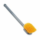 Commercial Long Handle Scrub, 20 Plastic Handle