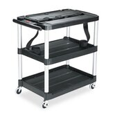 Commercial Mediamaster 3-Shelf Av Cart