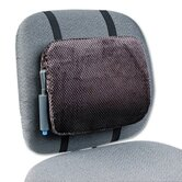 Adjustable Backrest with Push-Button Pump in Gray