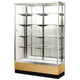 "Streamline 60"" x 15"" Trophy Case with Glass Back"