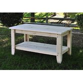 Rectangular Cedar Chat Table