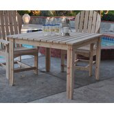 Dome Large Captiva Square Dining Table