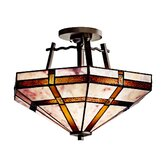 Tacoma 2 Light Semi Flush Mount