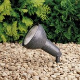 Textured Midnight Spruce Landscape Flood Light