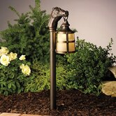 Olde Bronze Horsehead Lantern Path Light