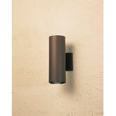 12&quot; Cans and Bullets Outdoor Wall Lantern in Architectural Bronze