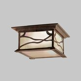 Morris  Outdoor Flush Mount in Distressed Copper