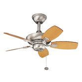 30&quot; Canfield 5 Blade Ceiling Fan