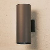 15&quot; Cans and Bullets Outdoor Wall Lantern in Architectural Bronze