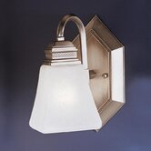 Polygon Wall Sconce in Antique Pewter