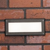 Brick Step Light in Textured Architectural Bronze