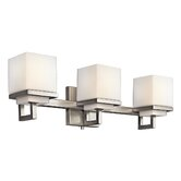 Metro Park  Vanity Light in Brushed Nickel