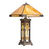 Oak Park  Tiffany Table Lamp