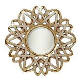 Mirror in Antique Silver