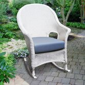 Naples Darby High Back Rocking Chair with Cushion