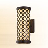 Bangle  Wall Lantern in Modern Bronze