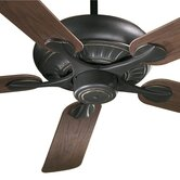 "52"" Pinnacle 5 Blade Patio Ceiling Fan with Remote"