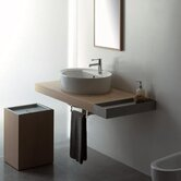 "Line 59.1"" Wall Mounted Bathroom Vanity"