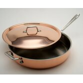 Cop-R-Chef 3-qt. Sauté Pan with Lid