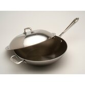Stainless Chef's Pan with Lid