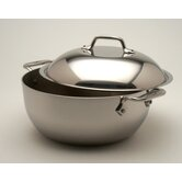 Stainless 5 1/2-Qt. Round Dutch Oven