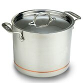 Copper-Core 7-qt. Stock Pot with Lid