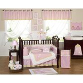 Pink Dragonfly Dreams Collection 9pc Crib Bedding Set