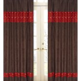 Wild West Cowboy Collection Window Panels  - Chocolate and Bandana