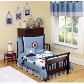 Come Sail Away Toddler Bedding Collection