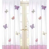 Butterfly Pink and Purple Collection Window Panels