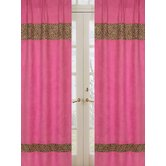 Cheetah Pink Collection Window Panels