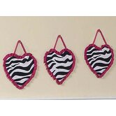 Zebra Pink Collection Wall Hangings
