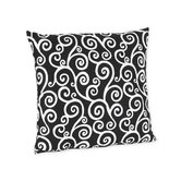 Kaylee Collection Decorative Pillow  - Scroll Print