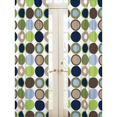 Designer Dot Collection Window Panels  - Dot Print