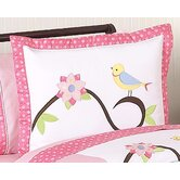 Song Bird Collection Standard Pillow Sham