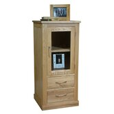 Mobel Oak Hi-Fi Cabinet