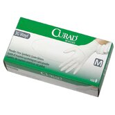 Curad Powder-Free Stretch Synthetic Vinyl Gloves