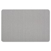 Oval Office Fabric Bulletin Board in Light Blue