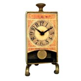 Brass Anniversary Table Pendulum Clock